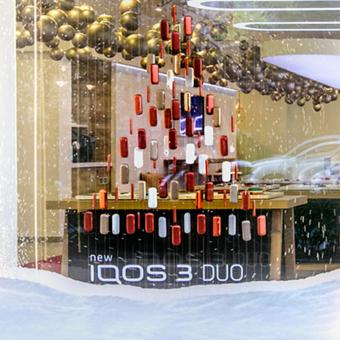 XMAS 2019 Windows for IQOS Stores  - thumbnail_img
