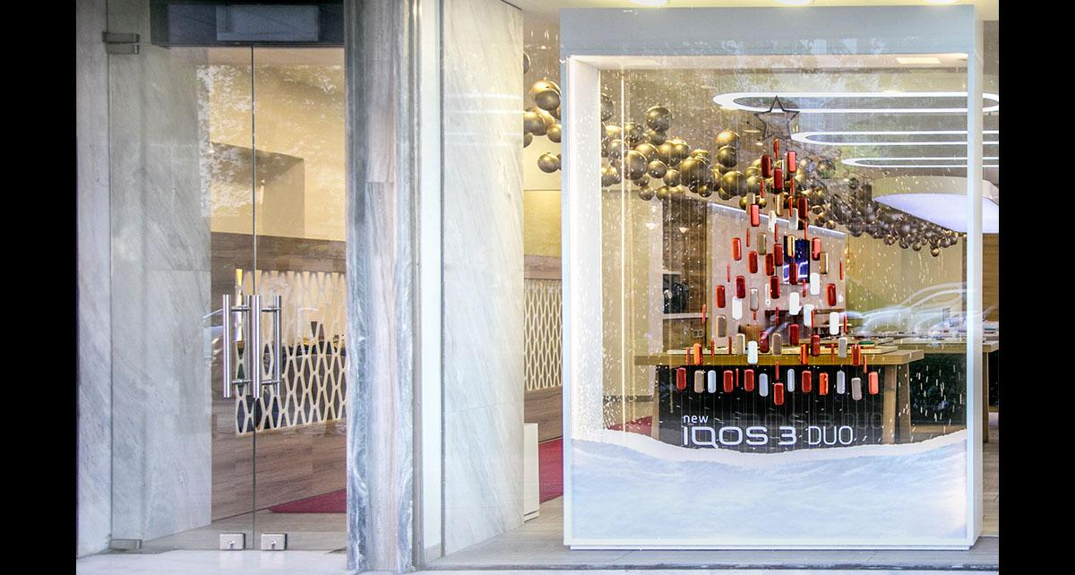 XMAS 2019 Windows for IQOS Stores  - Gallery 2