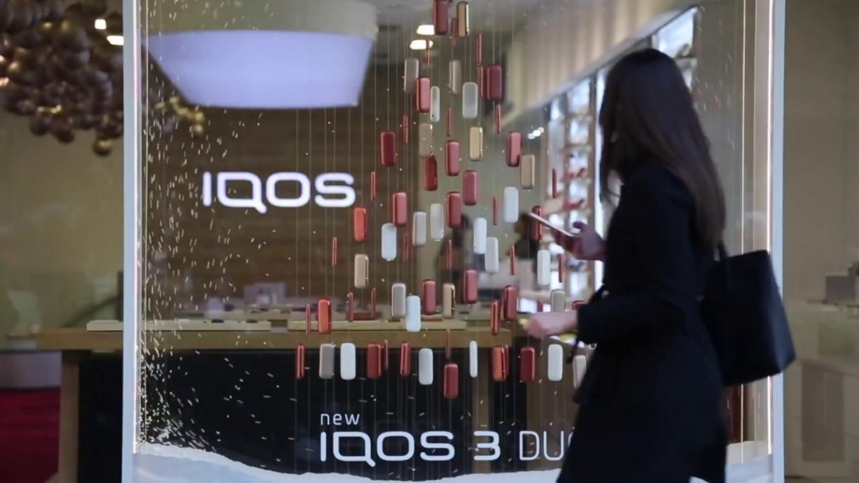XMAS 2019 Windows for IQOS Stores  - Gallery